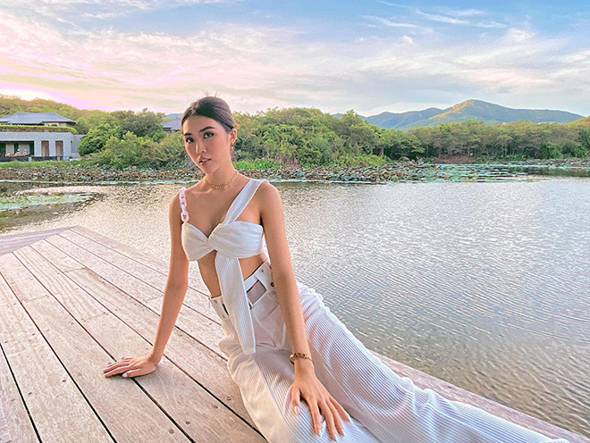 Ảnh bikini gợi cảm của hoa hậu Tường Linh gây bàn tán - Ảnh 7.