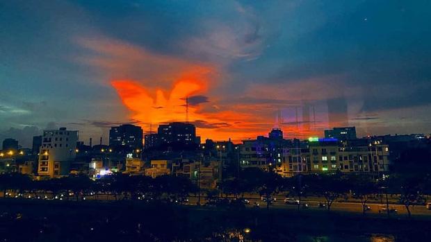 Liên tiếp xuất hiện những bầu trời huyền ảo ở Việt Nam trong năm 2020, rực rỡ nhất là hình ảnh phượng hoàng lửa cất cánh - Ảnh 5.