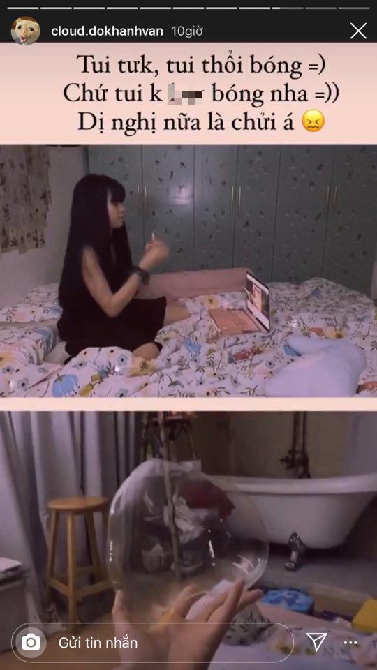 Bị đồn là bad girl, Khánh Vân (Mắt Biếc) chẳng ngại thừa nhận và còn đáp trả cực gắt - Ảnh 3.