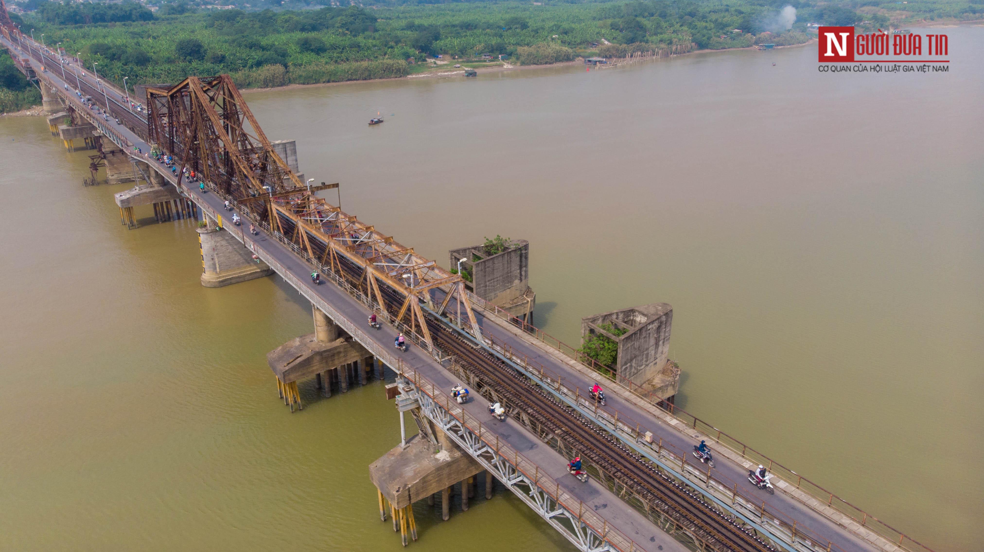 Tin nhanh - Chiêm ngưỡng 6 cây cầu bắc qua sông Hồng nối trung tâm Hà Nội