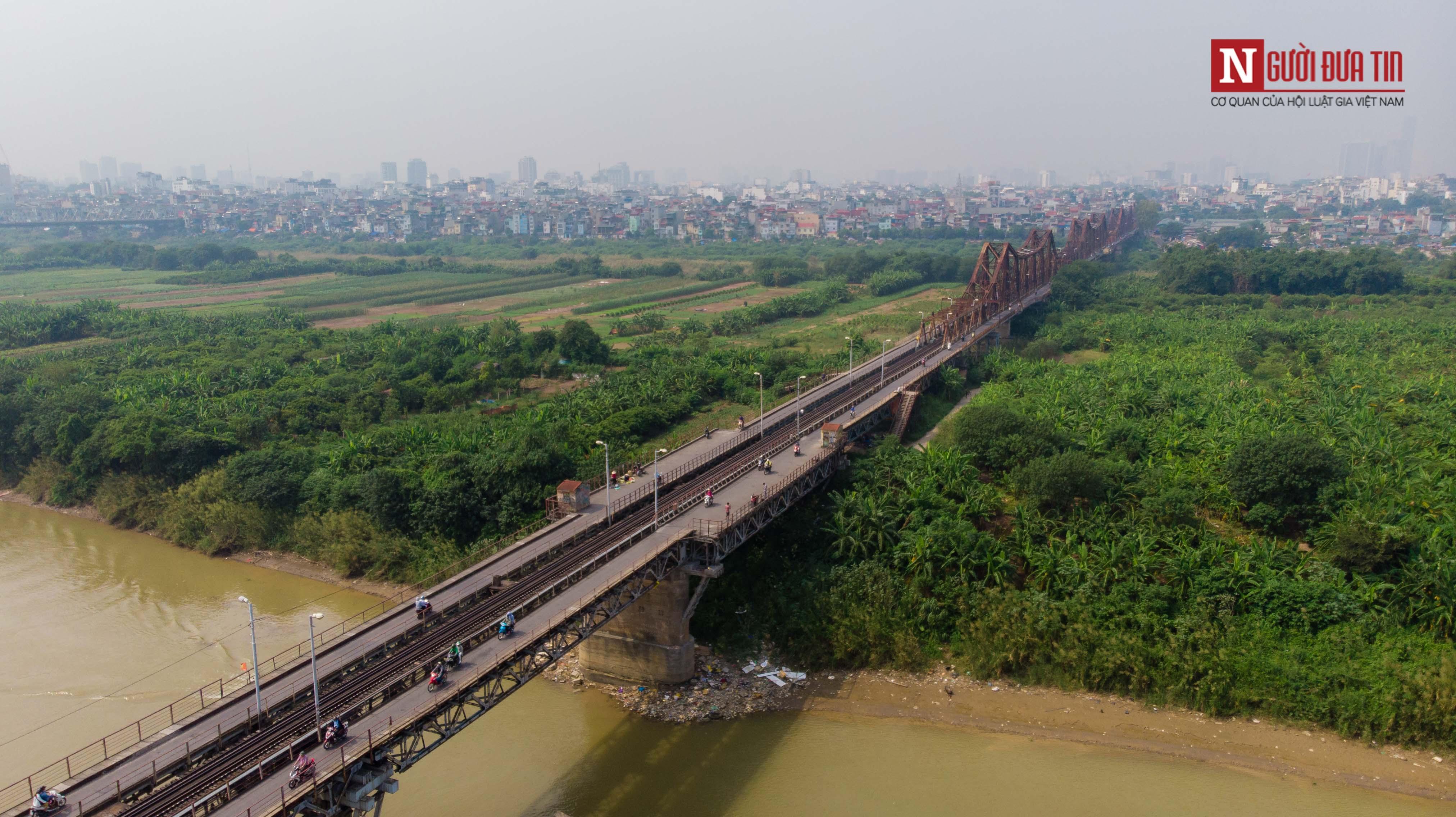 Tin nhanh - Chiêm ngưỡng 6 cây cầu bắc qua sông Hồng nối trung tâm Hà Nội (Hình 2).