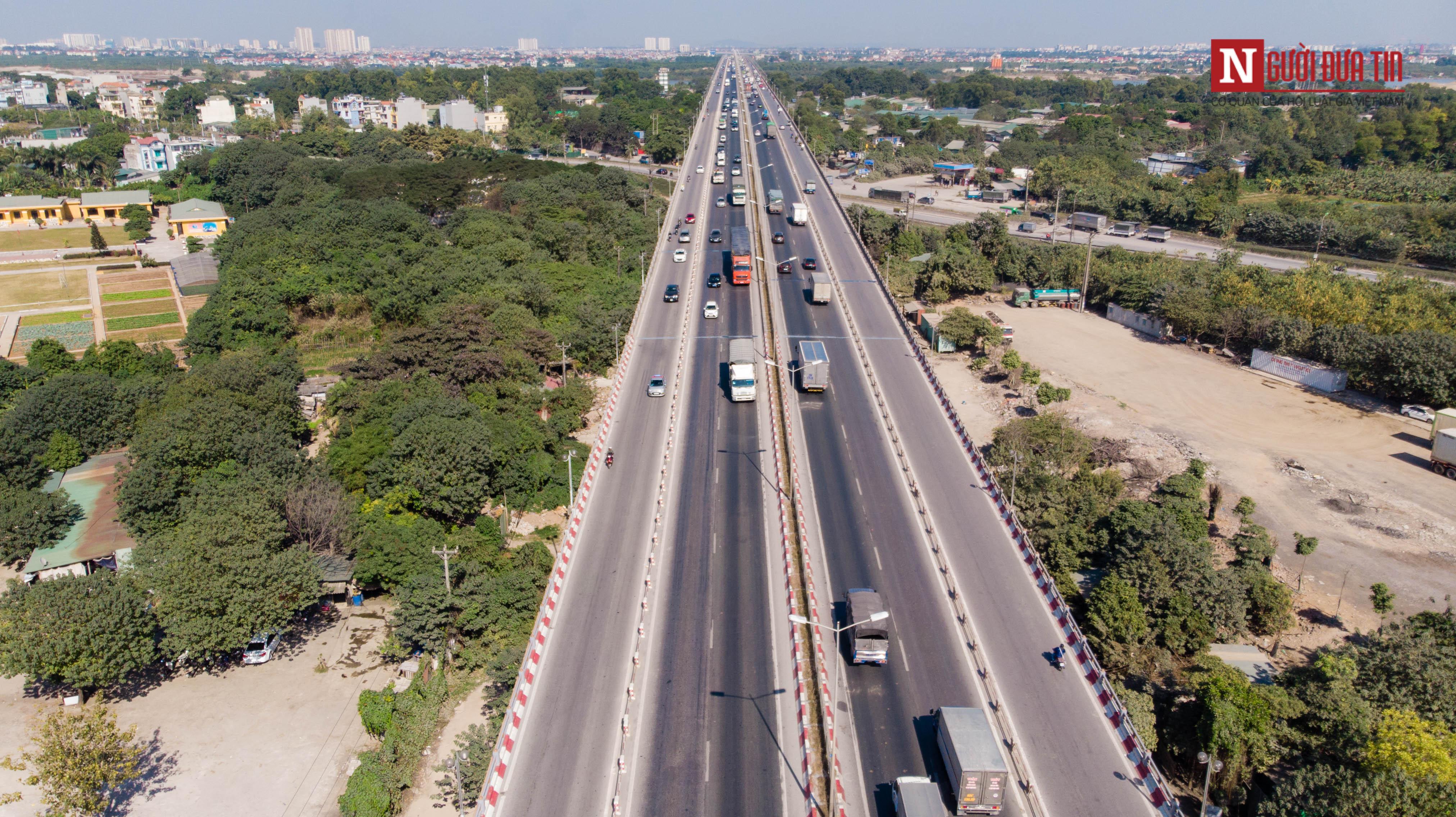 Tin nhanh - Chiêm ngưỡng 6 cây cầu bắc qua sông Hồng nối trung tâm Hà Nội (Hình 9).