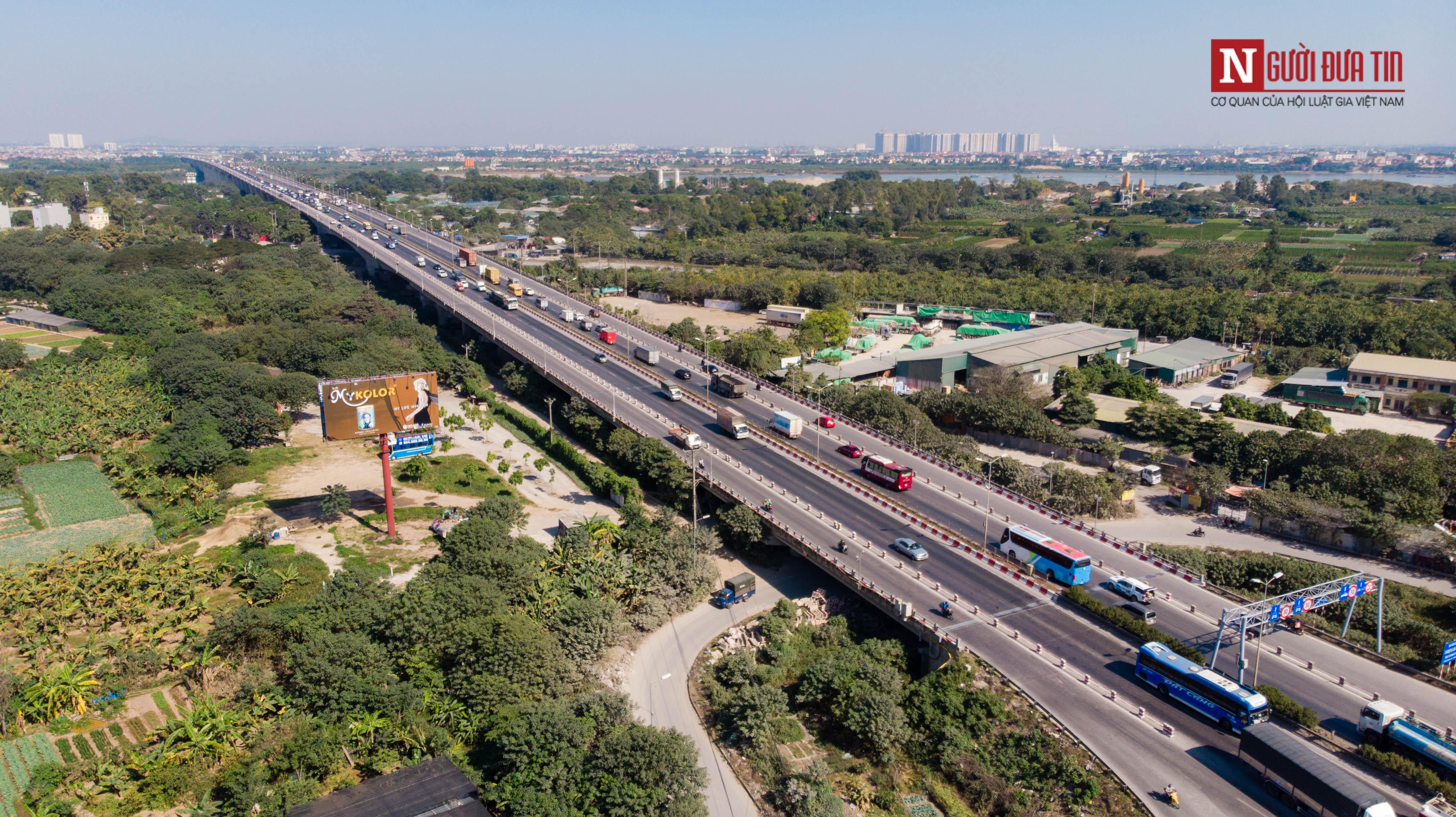 Tin nhanh - Chiêm ngưỡng 6 cây cầu bắc qua sông Hồng nối trung tâm Hà Nội (Hình 7).