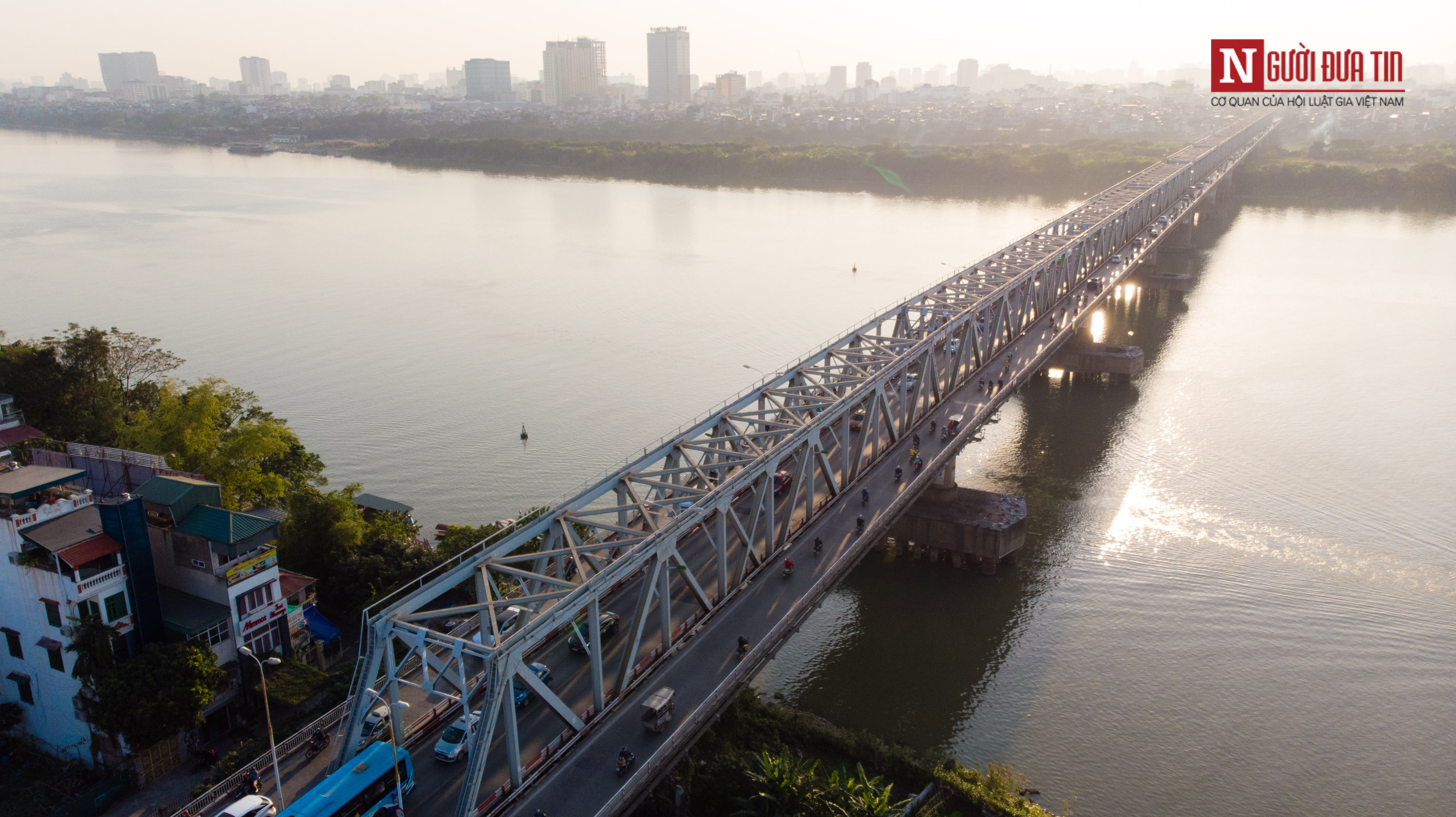 Tin nhanh - Chiêm ngưỡng 6 cây cầu bắc qua sông Hồng nối trung tâm Hà Nội (Hình 4).