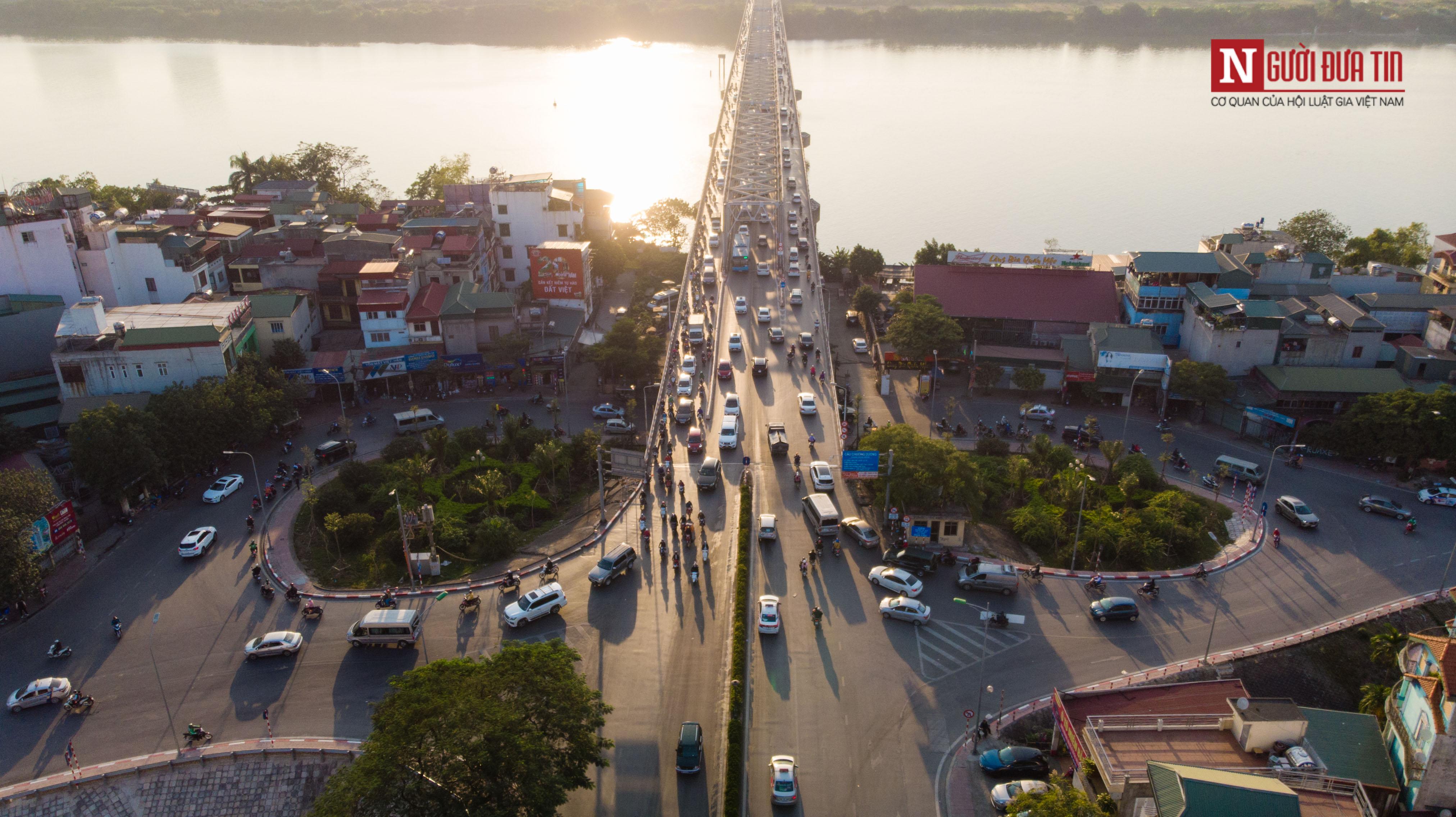 Tin nhanh - Chiêm ngưỡng 6 cây cầu bắc qua sông Hồng nối trung tâm Hà Nội (Hình 6).