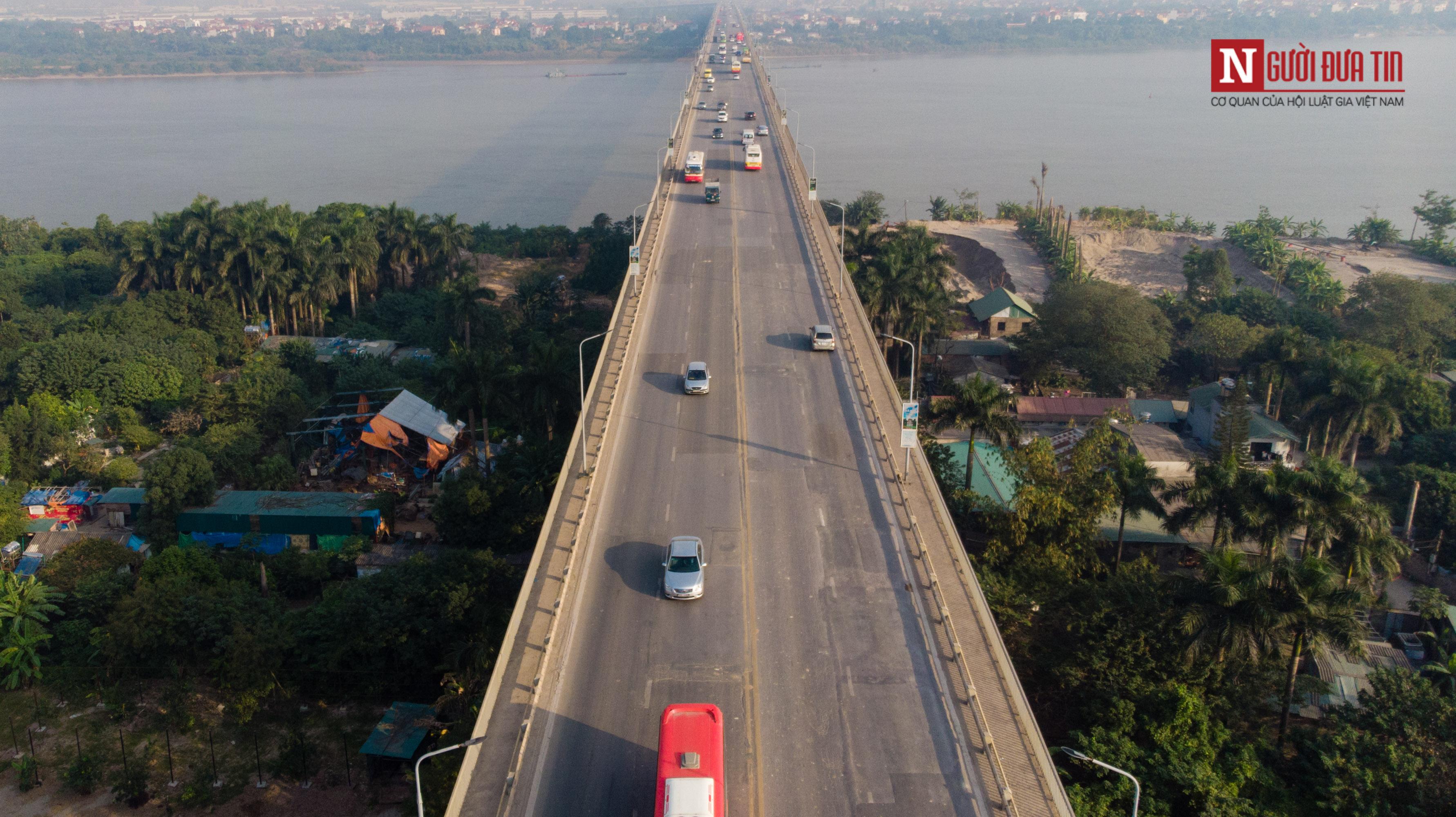 Tin nhanh - Chiêm ngưỡng 6 cây cầu bắc qua sông Hồng nối trung tâm Hà Nội (Hình 13).