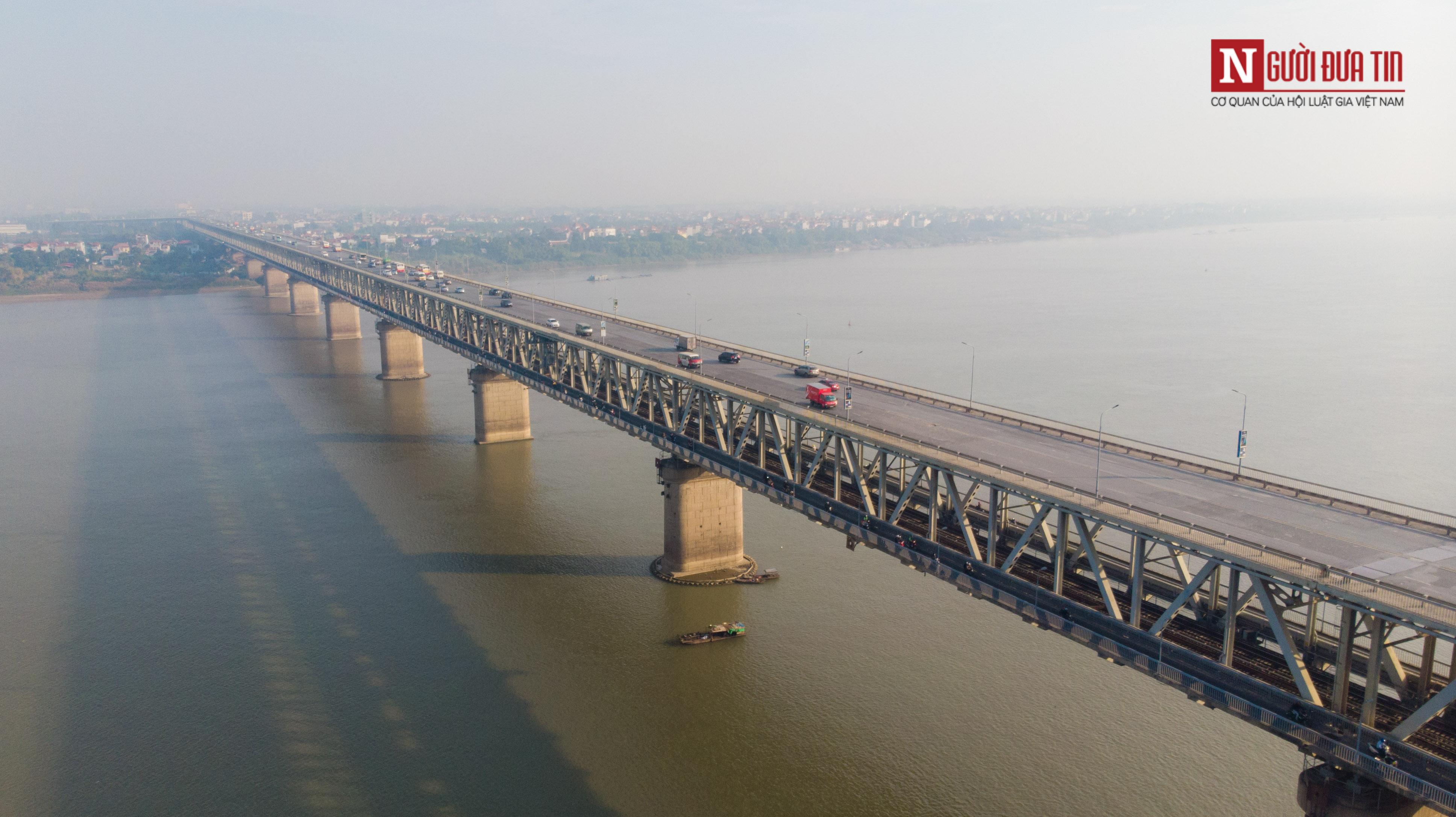 Tin nhanh - Chiêm ngưỡng 6 cây cầu bắc qua sông Hồng nối trung tâm Hà Nội (Hình 14).