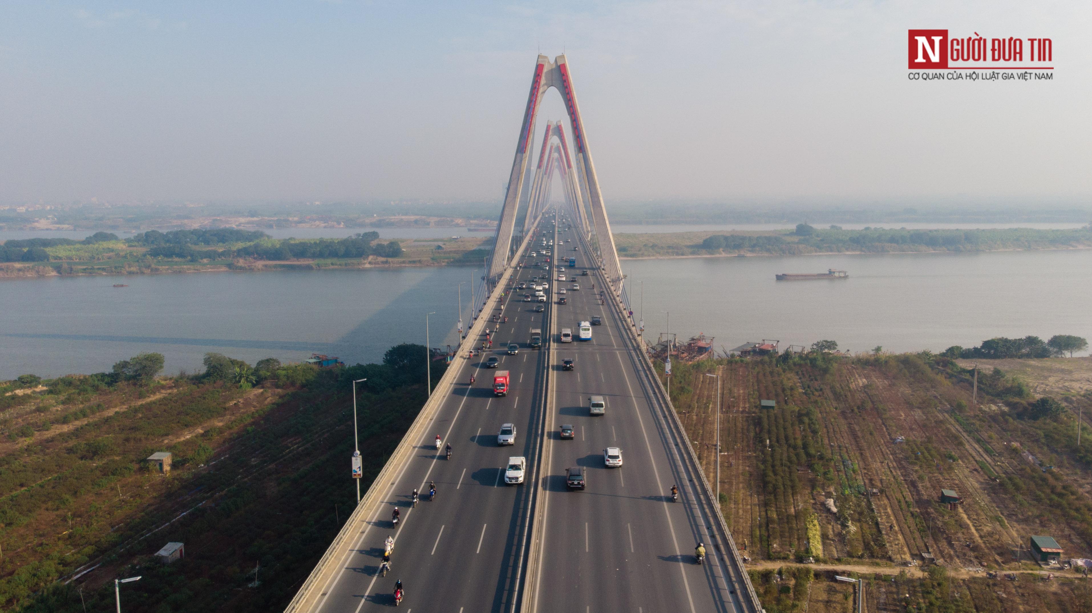 Tin nhanh - Chiêm ngưỡng 6 cây cầu bắc qua sông Hồng nối trung tâm Hà Nội (Hình 17).