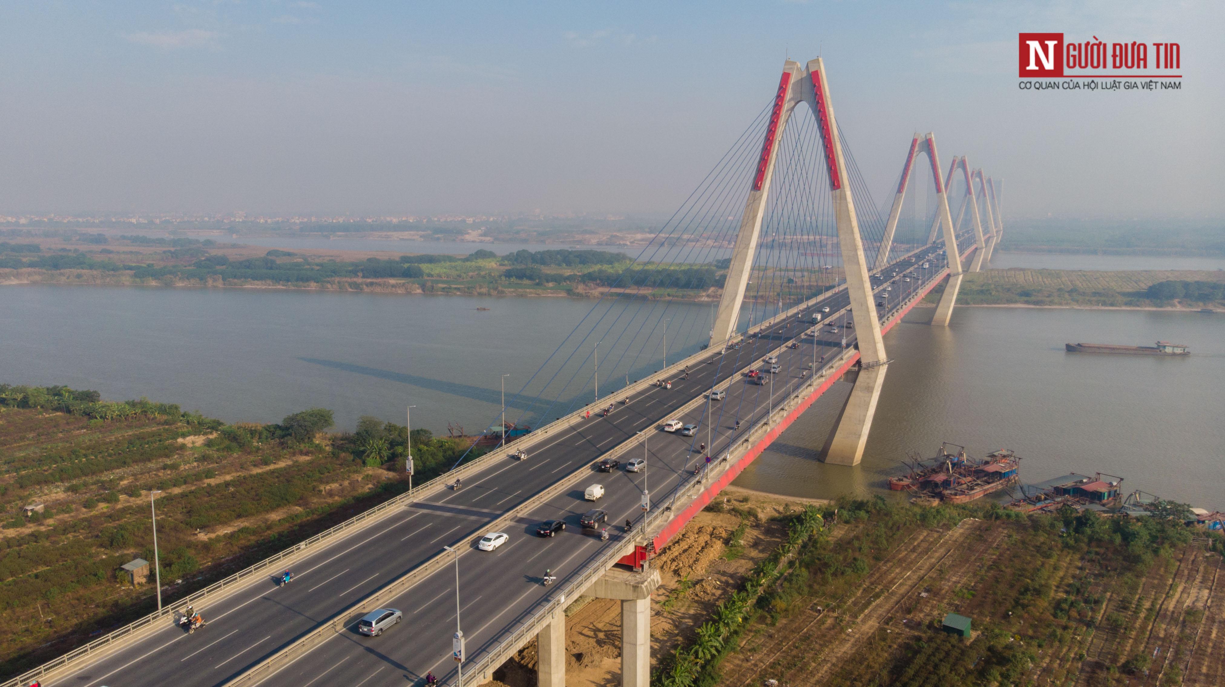 Tin nhanh - Chiêm ngưỡng 6 cây cầu bắc qua sông Hồng nối trung tâm Hà Nội (Hình 16).