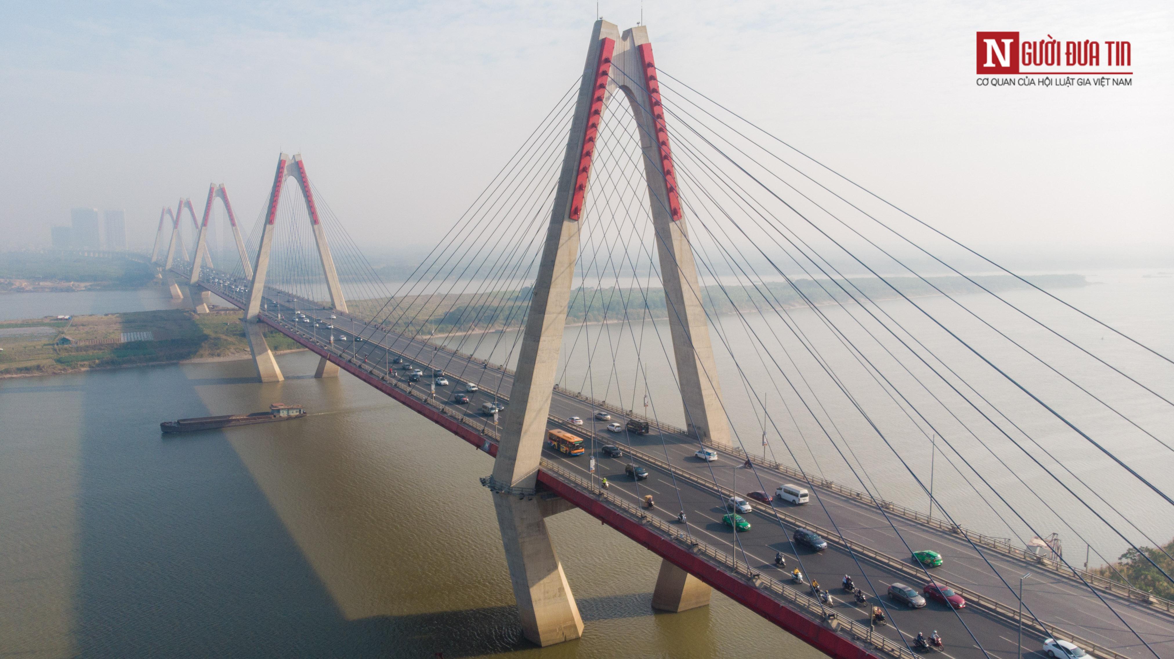 Tin nhanh - Chiêm ngưỡng 6 cây cầu bắc qua sông Hồng nối trung tâm Hà Nội (Hình 18).