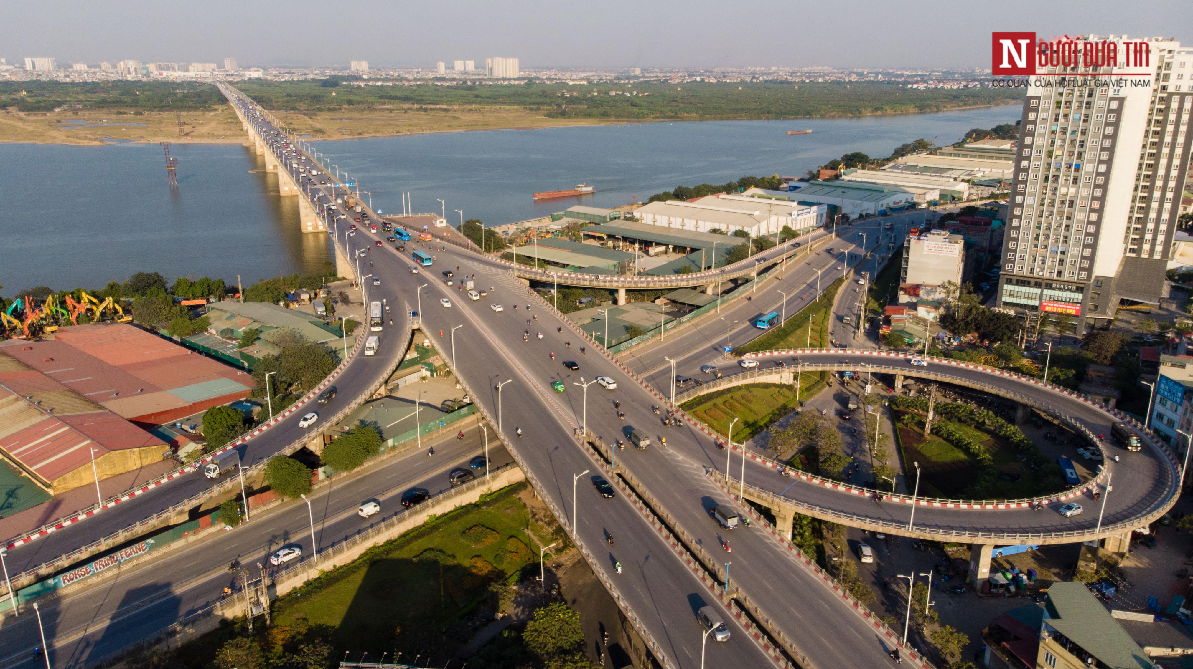 Tin nhanh - Chiêm ngưỡng 6 cây cầu bắc qua sông Hồng nối trung tâm Hà Nội (Hình 10).