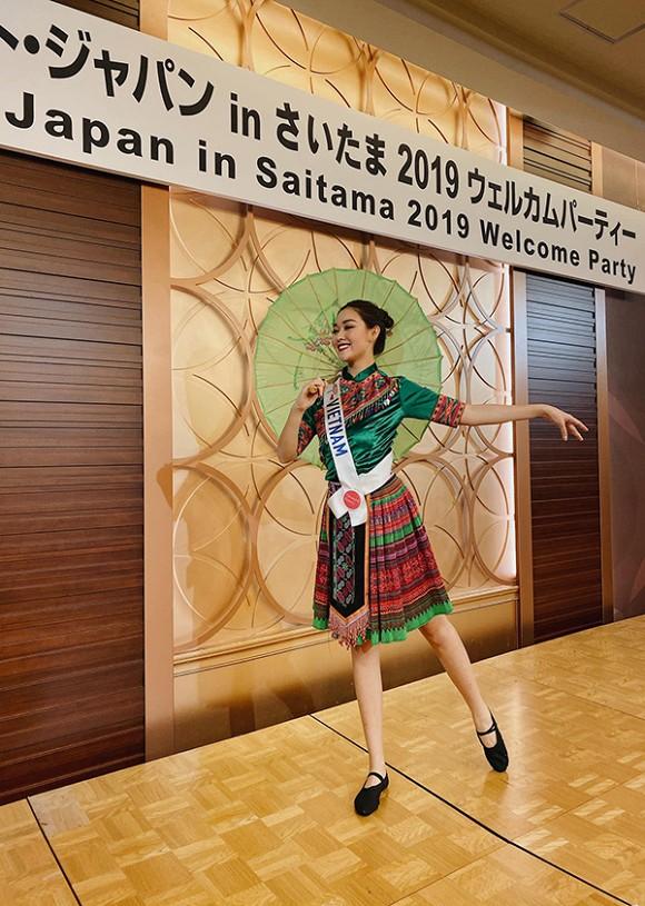 á hậu tường san, Miss International, sao Việt