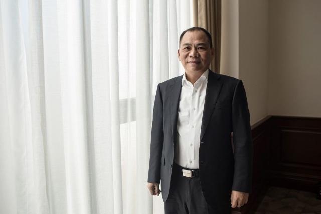 Có 7,7 tỷ USD, ông Phạm Nhật Vượng đứng thứ 239 người giàu nhất thế giới - 1