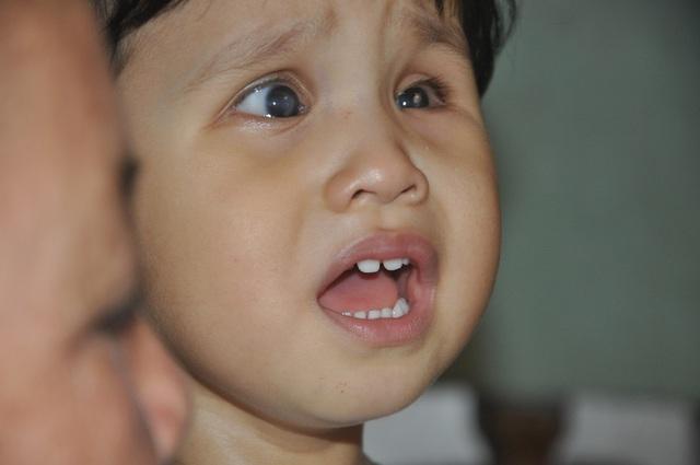 Thương bé gái khi sinh ra đã bị hỏng đôi mắt - 4