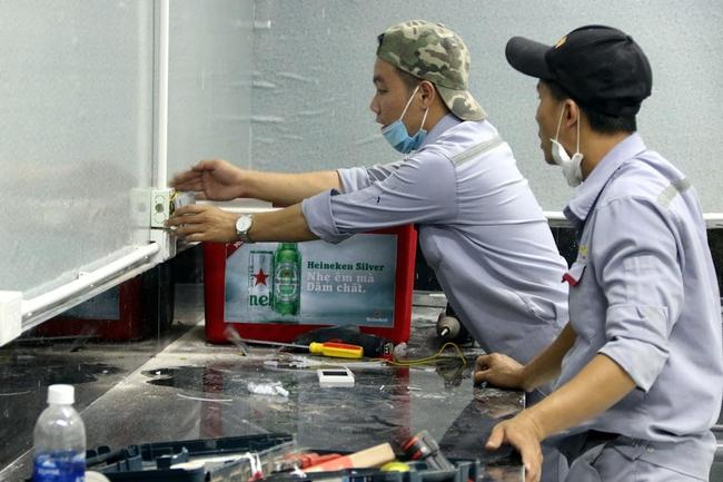 Cận cảnh bệnh viện dã chiến 700 giường tại Đà Nẵng hoàn thiện sau 72h  - Ảnh 5.