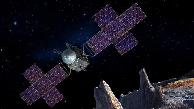 Sứ mệnh khám phá tiểu hành tinh chứa kho báu 10.000 triệu tỉ USD của NASA đạt dấu mốc quan trọng - Ảnh 1.
