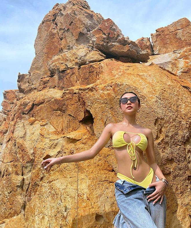 Ảnh bikini gợi cảm của hoa hậu Tường Linh gây bàn tán - Ảnh 3.