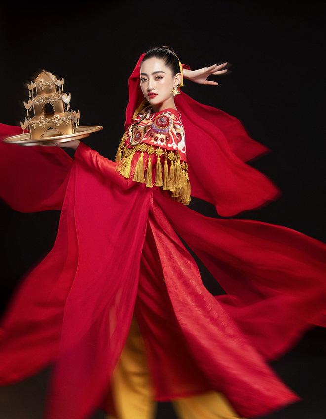 Lương Thuỳ Linh cùng 2 Á hậu kỷ niệm 1 năm đăng quang Miss World Việt Nam: Top 3 nay đã thay đổi ra sao? - Ảnh 4.