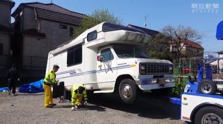Nghi phạm có thể đã giấu bé Nhật Linh trong một chiếc xe cắm trại