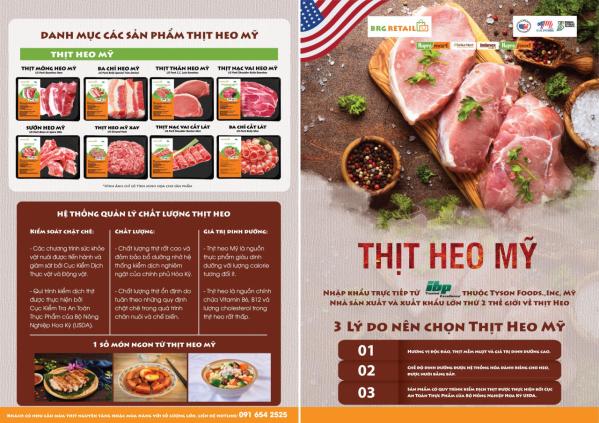 Tuần lễ thịt heo Mỹ được diễn ra từ ngày 24.7 đến 2.8.2020 tại BRGMart (2)