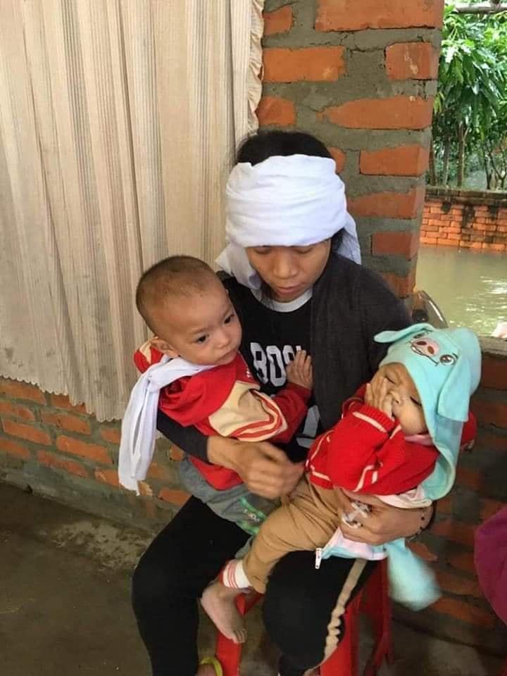 Chồng bị lũ cuốn trôi 3 ngày mới tìm thấy để lại 3 con thơ nheo nhóc cho người vợ trẻ  - Ảnh 4.