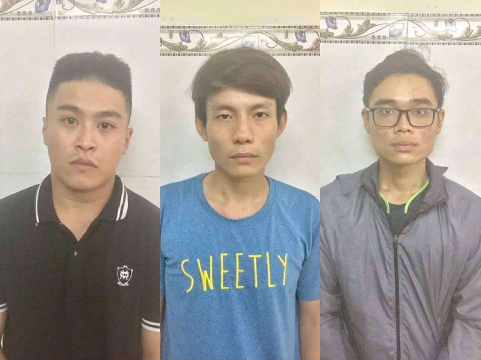 Nhóm cướp giật bị bắt nhờ camera an ninh ở Sài Gòn - Ảnh 1.