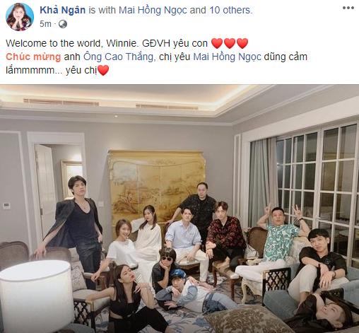 """Ông Cao Thắng thông báo bà xã hạ sinh con gái đầu lòng nặng 3.06kg, loạt sao Việt """"rần rần"""" vào chúc mừng - Ảnh 2."""