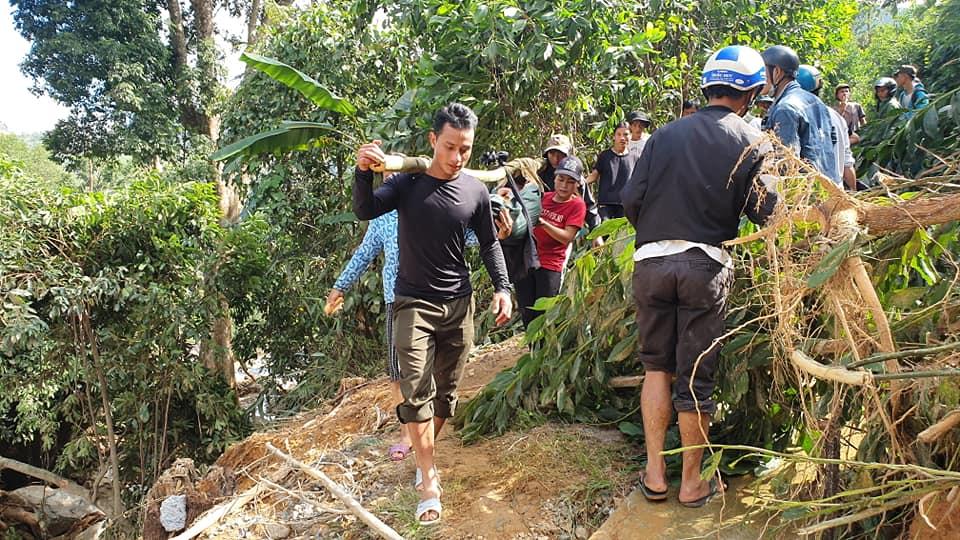 Nóng: Những hình ảnh đầu tiên từ tâm vụ sạt lở kinh hoàng Trà Leng khiến hàng chục người mất tích - Ảnh 6.
