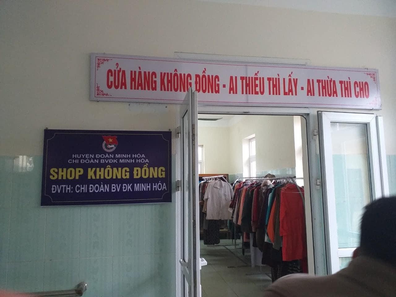 Cửa hàng 0 đồng trong bệnh viện biên giới Quảng Bình - Ảnh 4.