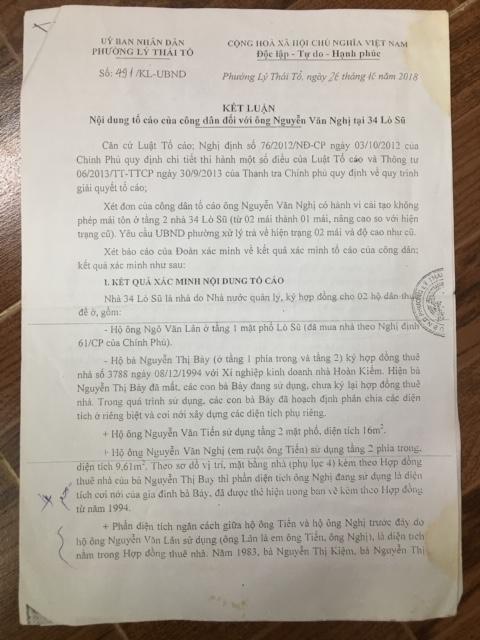 Cưỡng chế vi phạm tại số 34 phố Lò Sũ (phường Lý Thái Tổ, quận Hoàn Kiếm, Hà Nội): Cần một giải pháp thấu tình đạt lý! - Ảnh 6.