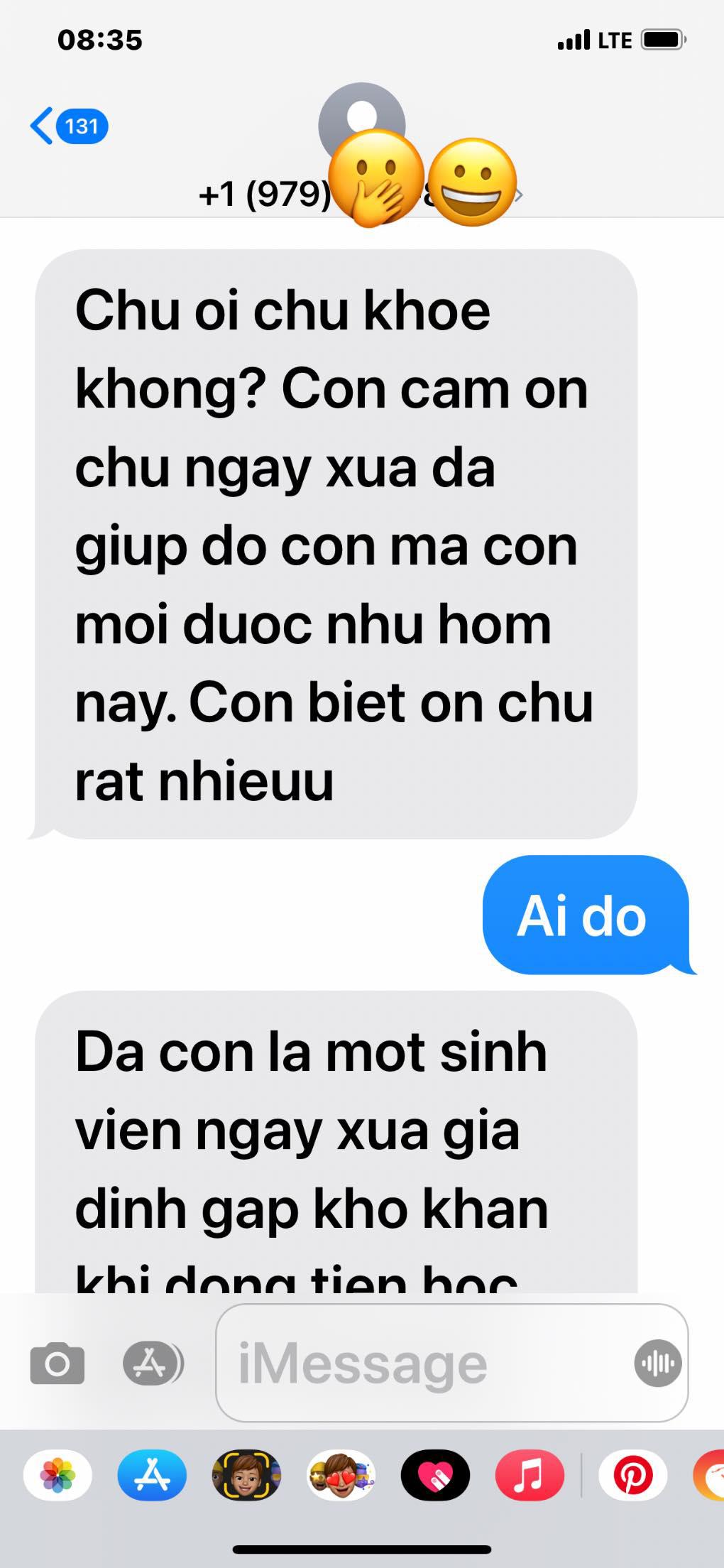 Câu chuyện cảm động của Đàm Vĩnh Hưng khi nhận loạt tin nhắn của người lạ - Ảnh 3.