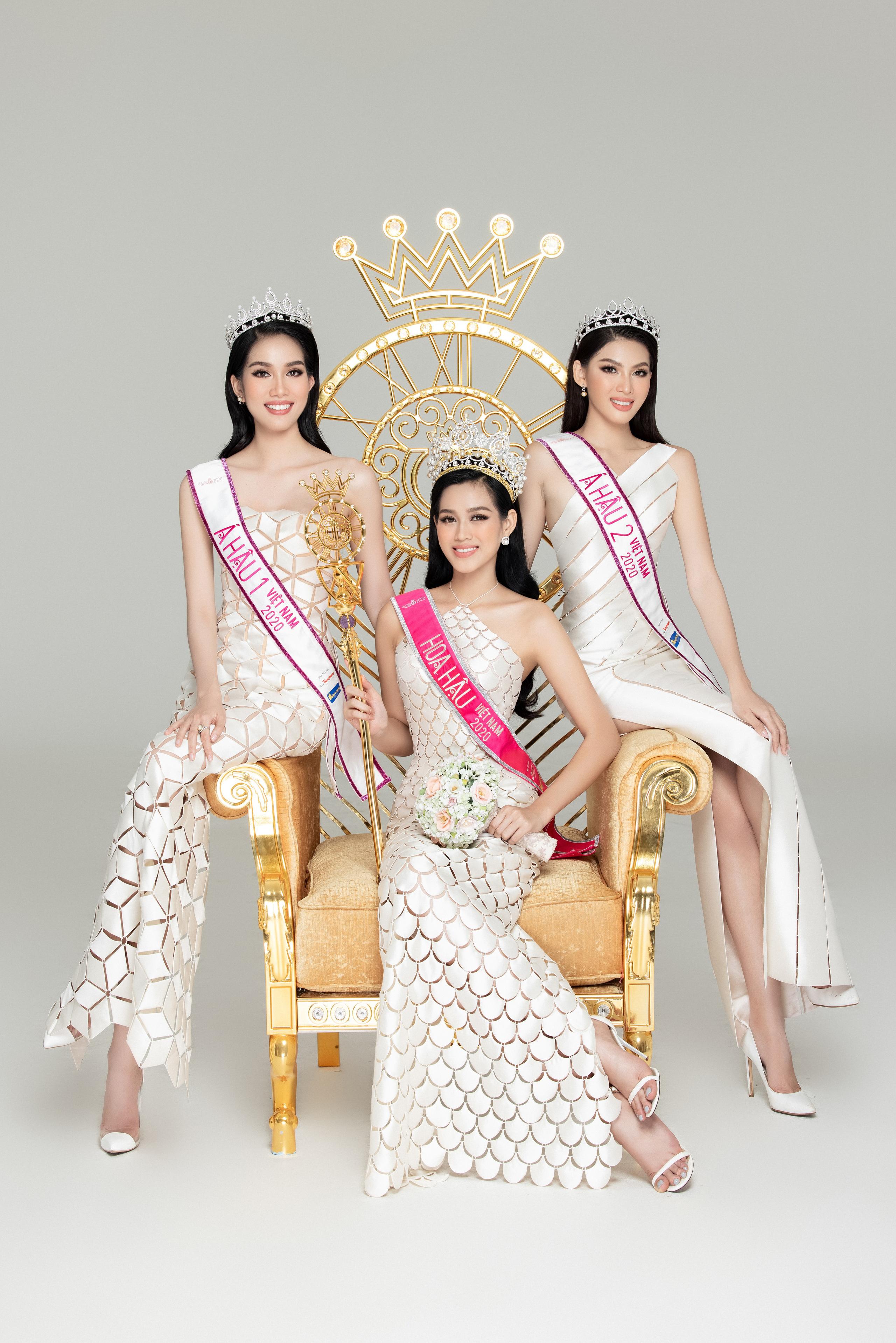 Soi nhan sắc Hoa hậu Đỗ Thị Hà và 2 Á hậu sau một tháng đăng quang - Ảnh 3.