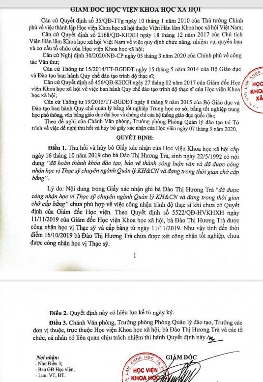 Bị hủy kết quả trúng tuyển viên chức vì khai không chính xác trong hồ sơ dự tuyển  - Ảnh 2.