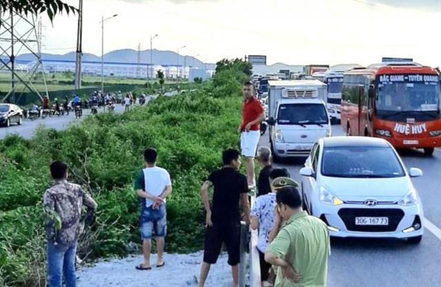 Mức án nào cho tài xế đâm cảnh sát cơ động ở Bắc Giang tử vong?  - Ảnh 1.