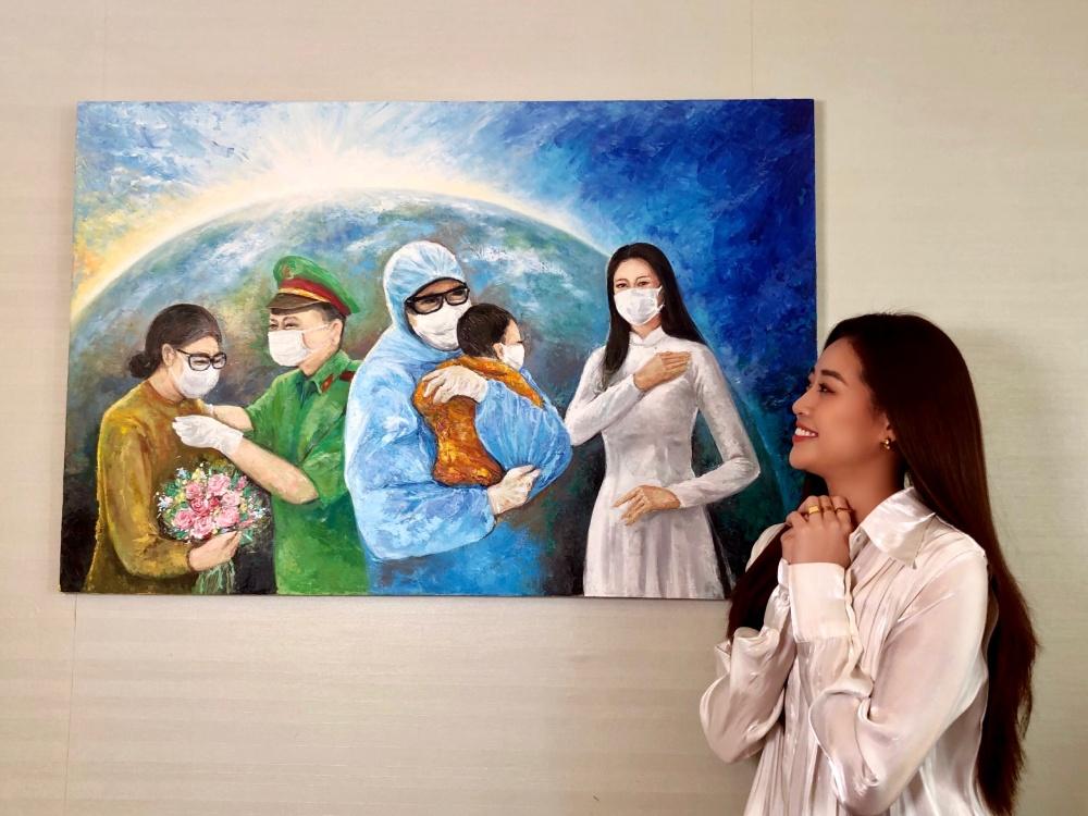 Hoa hậu Khánh Vân gửi tặng 150 triệu đồng cho quỹ phòng chống dịch COVID-19 - Ảnh 3.