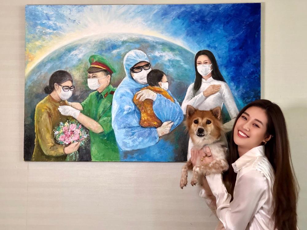 Hoa hậu Khánh Vân gửi tặng 150 triệu đồng cho quỹ phòng chống dịch COVID-19 - Ảnh 4.
