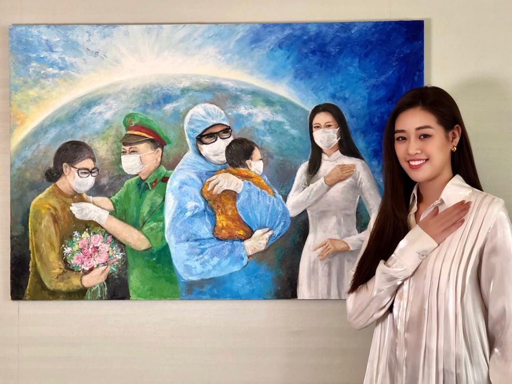 Hoa hậu Khánh Vân gửi tặng 150 triệu đồng cho quỹ phòng chống dịch COVID-19 - Ảnh 5.