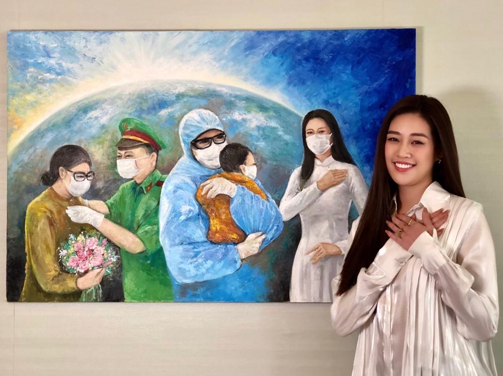 Hoa hậu Khánh Vân gửi tặng 150 triệu đồng cho quỹ phòng chống dịch COVID-19 - Ảnh 2.