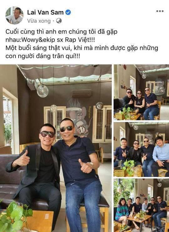 MC Lại Văn Sâm đăng hình cùng fan cuồng Wowy, lại còn được gợi ý rap name để đi thi Rap Việt - Ảnh 3.
