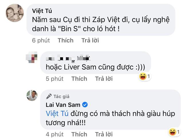 MC Lại Văn Sâm đăng hình cùng fan cuồng Wowy, lại còn được gợi ý rap name để đi thi Rap Việt - Ảnh 4.