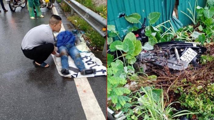 Va chạm với xe container, 2 thanh niên đi xe máy tử vong thương tâm  - Ảnh 4.
