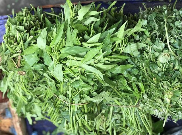 Hà Nội: Giá rau xanh tăng mạnh, người mua sững sờ - Ảnh 2.