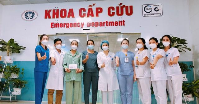 Nữ bệnh nhân mắc bệnh Whitmore ở Phú Thọ được cứu sống kịp thời - Ảnh 3.