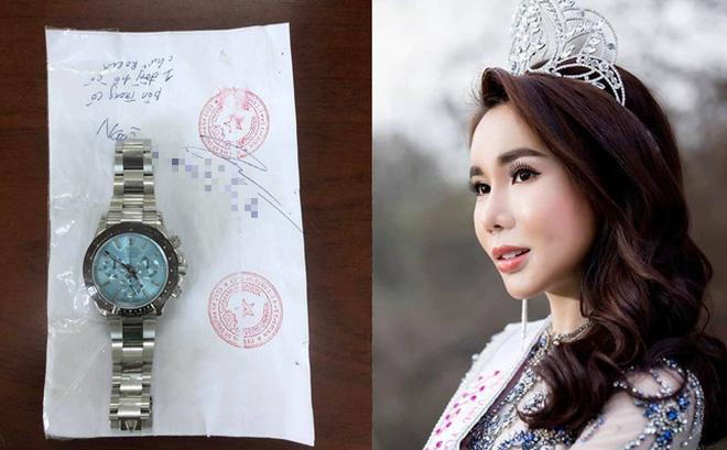 Hoa hậu trộm đồng hồ Rolex 2 tỉ đồng có thể đối diện mức án nào? - Ảnh 1.