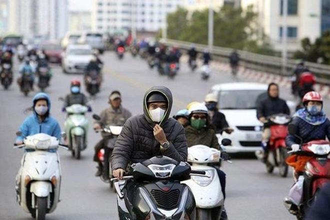 Đón không khí lạnh tăng cường, Hà Nội mưa lạnh, Mẫu Sơn chuyển rét hại 12,5 độ C - Ảnh 1.