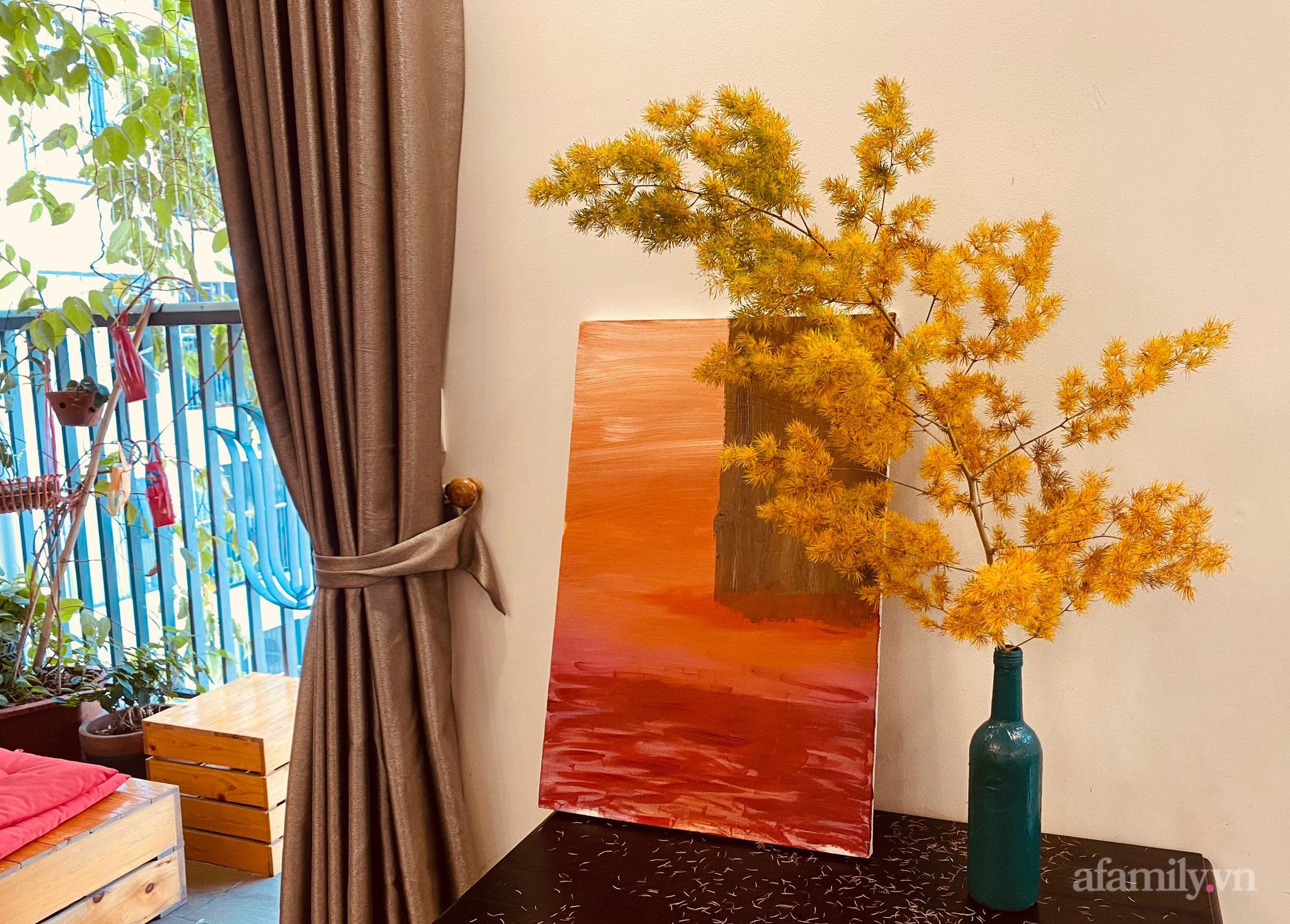 """Mẹ đảm Hà Nội """"mách nhỏ"""" loại cành cắm mang Thu vào nhà, giá 125k/5 cành đặt góc nào cũng ra bức ảnh như ở trời Tây - Ảnh 3."""