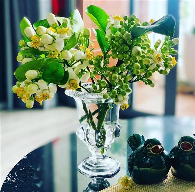 Đón rằm tháng Giêng, người Hà Nội lại tấp nập mua hoa bưởi - Ảnh 1.