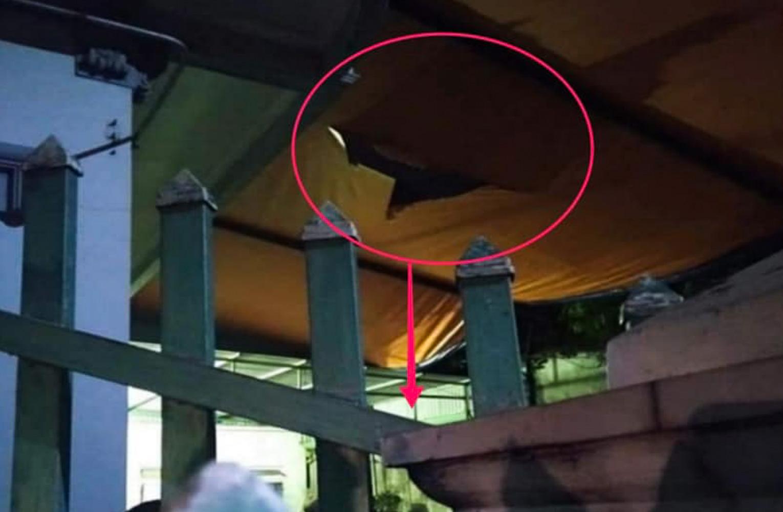 Nam Định: Bé trai 4 tuổi rơi từ tầng 2 xuống đất tử vong - Ảnh 1.