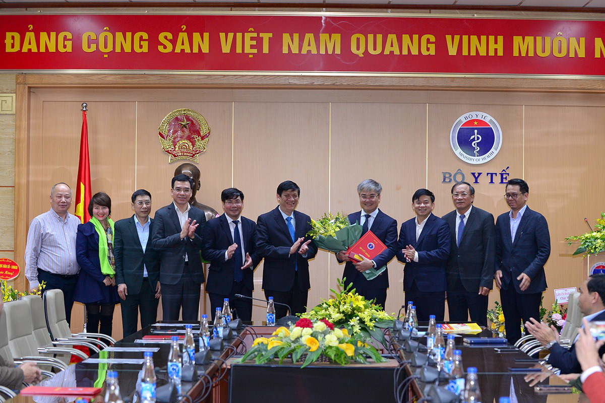 Bộ Y tế bổ nhiệm ông Trần Tuấn Linh giữ chức vụ Tổng Biên tập Báo Sức khỏe và Đời sống - Ảnh 3.