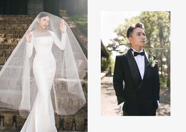 Nhìn ảnh cưới của Phan Mạnh Quỳnh mà mê mẩn trước nhan sắc cô dâu: Từ gương mặt đến vóc dáng gợi cảm chẳng kém Hoa hậu - Ảnh 4.